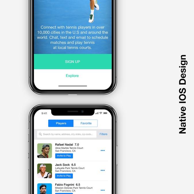 Mobile app design for leading messaging, social networking