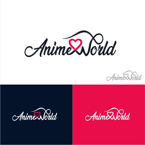Animeworld Needs An Awesome Logo Join The World Of Anime Logo