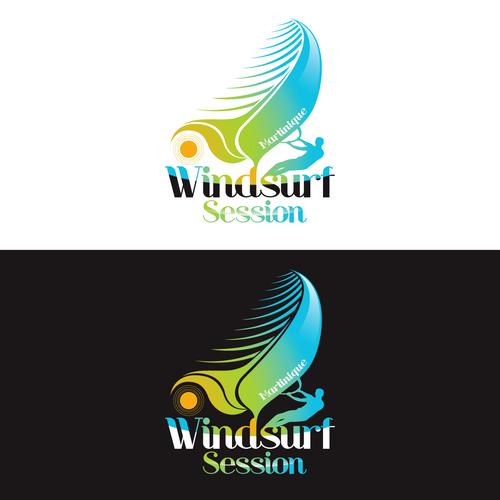 Créez le/la logo suivant(e) pour Windsurf Session   Logo ...