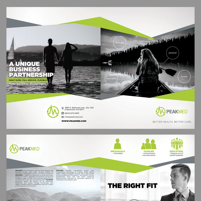 multi page booklet design concept provided brochure contest