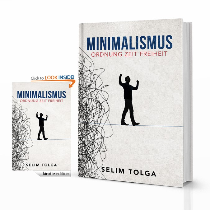 Book Cover Making Contest ~ Minimalismus book cover contest