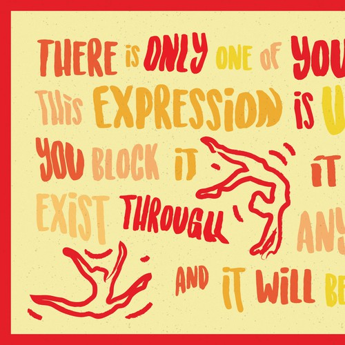 Community Contest | Illustrate your favorite creative quote (multiple winners!) Design by SP Friedman