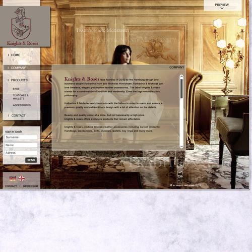 Diseño finalista de WerbeBrise