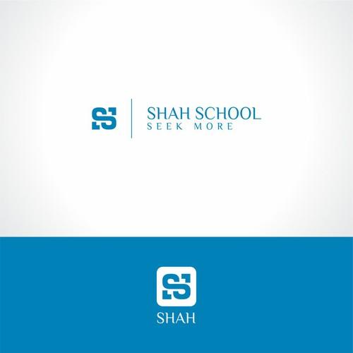 Shah School Virtual Classroom Logo Logo Design Contest