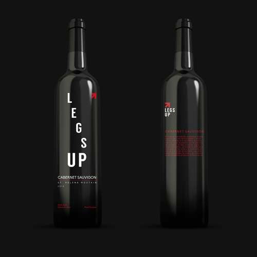 Legs Up 2013 Vintage Wine Label Design by KayArt