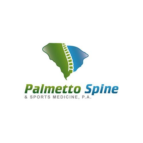 Create The Next Logo For Palmetto Spine Sports Medicine P A Logo Design Contest 99designs