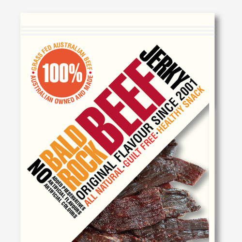 Beef Jerky Packaging/Label Design Design by Gal 2:20