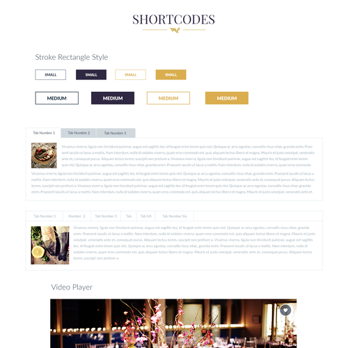 Design a great wordpress restaurant theme