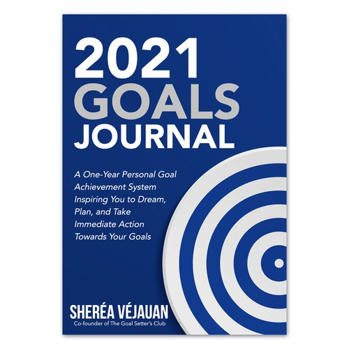 Design 10-Year Anniversary Version of My Goals Journal Design by Nitsua