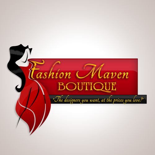 Logo And Business Card For Fashion Maven Boutique Logo Business