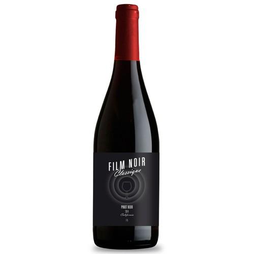 Movie Themed Wine Label - Film Noir Classique Ontwerp door chewbecca36