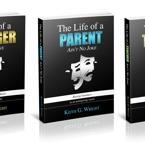 """Ain't No Joke"" Book Series Cover Design Design by Ashbee5923"