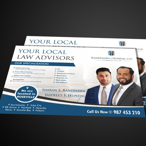 New law firm seeking a powerful introduction to the