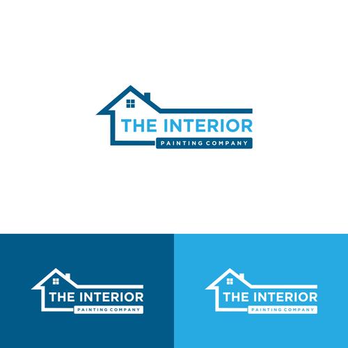 Logo for the interior painting company logo design contest for Interior design 99designs