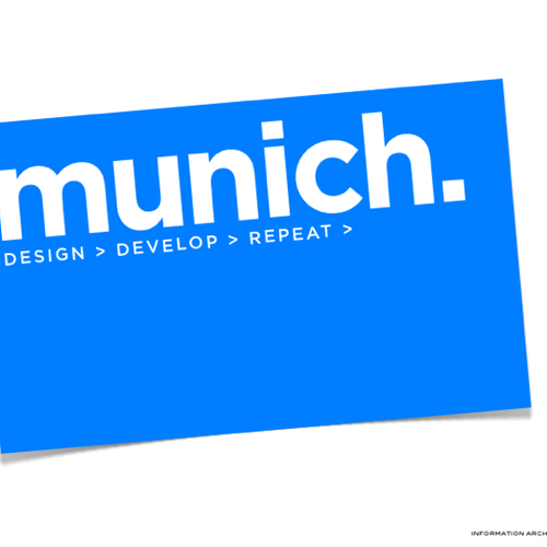 Runner-up design by mvillaca