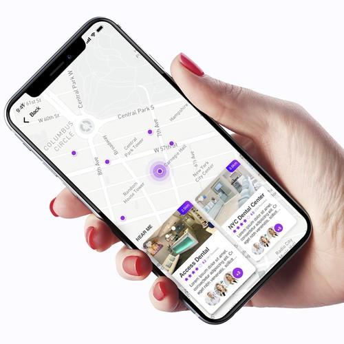 Wisdom, a discount dental membership plan (app) Design by Ivan Pina