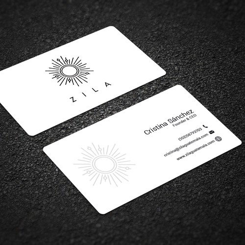 Business card for handmade jewelry brand inspired in mayan symbols runner up design by mahedihasan colourmoves