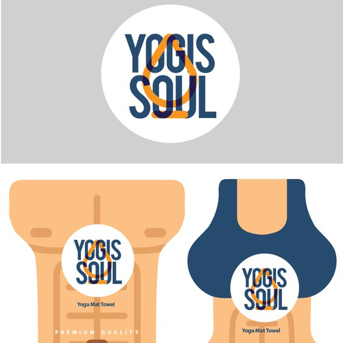 Create An Outstanding Yoga Towel Label Which Any Yogis