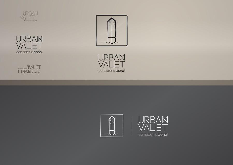 Create a captive luxury brand logo for Urban Valet Logo design