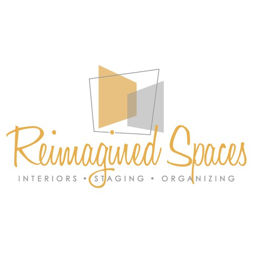 A cool logo for a company that does home staging interior decorating and organizing logo for Interior design staging companies