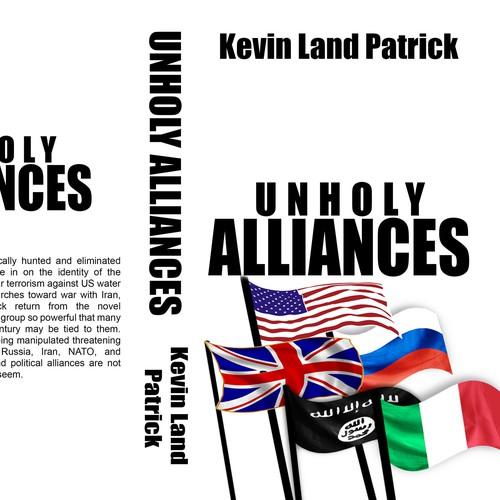 Book Cover Illustration Contest : Unholy alliances book cover design contest
