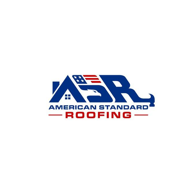 American Standard Roofing Logo | Logo design contest
