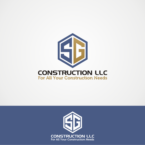 Blueprint construction llc mountain village home builder logo for sg construction llc logo design contest malvernweather Image collections