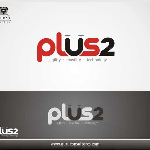 Ontwerp van finalist Guru Branding