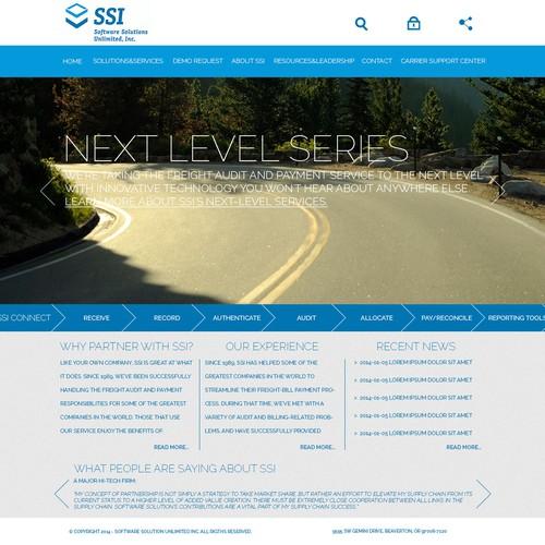 Runner-up design by mgweb