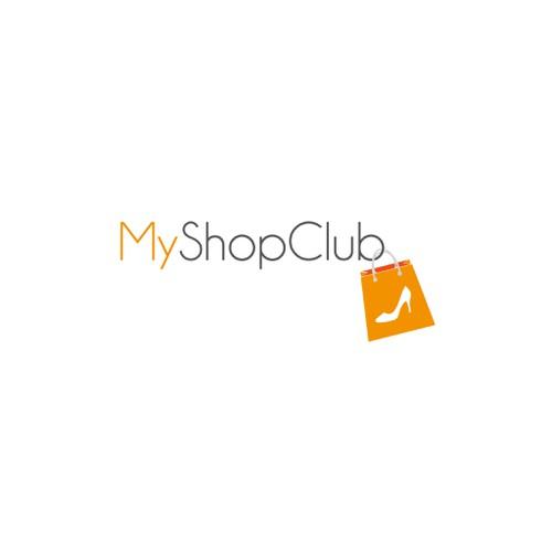 creare un logo interessante per un sito di e commerce di