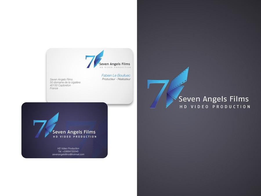 Seven Angels Films Needs A New Logo And Business Card Concours