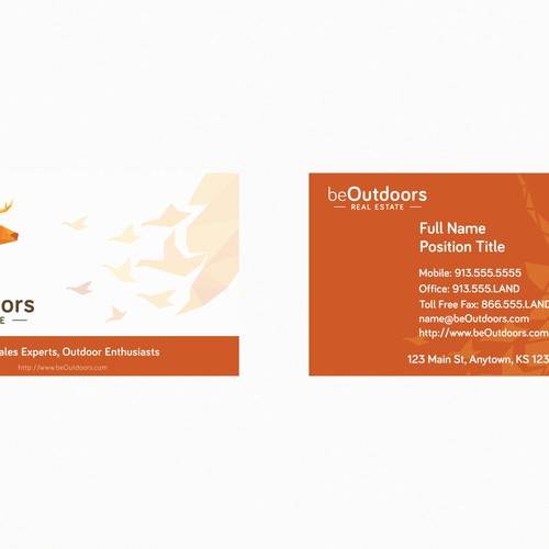 Runner-up design by George d