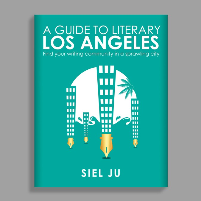 design a cute poster for aspiring l a writers ポスターコンペ
