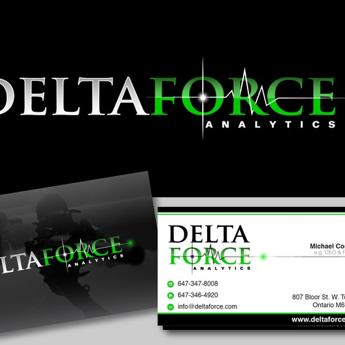 logo for Delta Force Analytics | Logo design contest