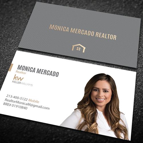 Creative realtor business cards arts arts creative and modern real estate logo business card colourmoves