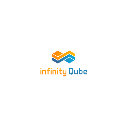 create infintate possibilities for the infinity qube digital dice logo design contest