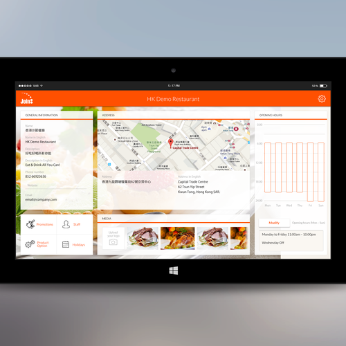 Windows 10 Tablet POS