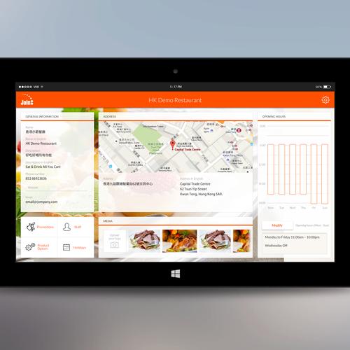 Windows 10 Tablet Pos App Design Contest