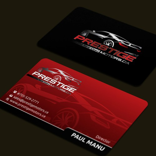 2017 fresh catchy dealership business card business card contest runner up design by daisy design colourmoves Gallery