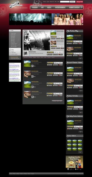 Diseño ganador de webagora