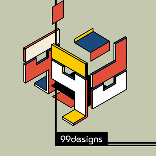 Community Contest | Reimagine a famous logo in Bauhaus style Design by Asael Varas