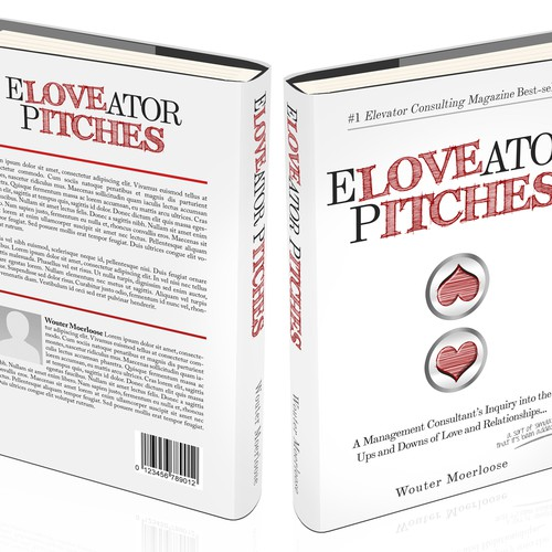 Eloveator Pitches A Consultant S Book On Love Book Cover Contest 99designs