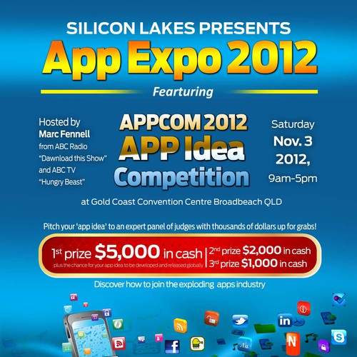 Create the next postcard or flyer for AppComp 2012 | Postcard, flyer