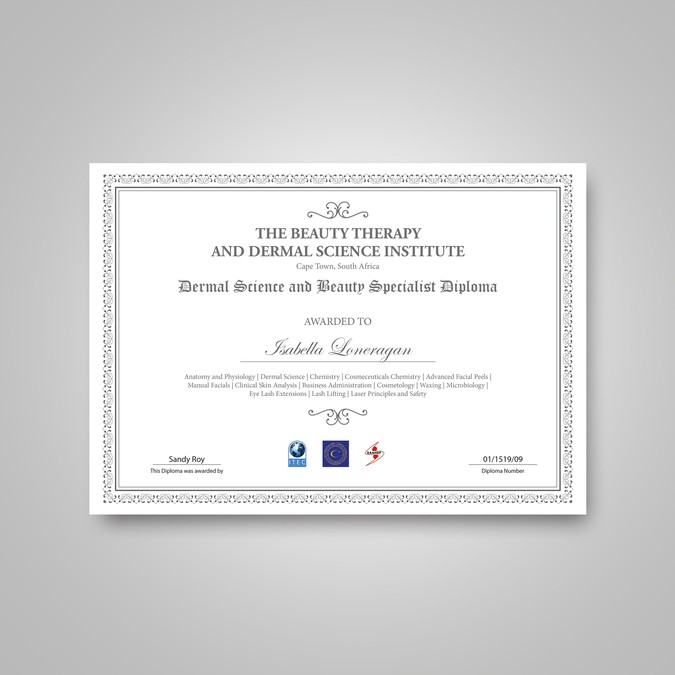 artwork document needed redesign of diploma document other art  winning design by art studio
