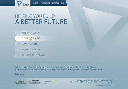 Runner-up design by Web2byte
