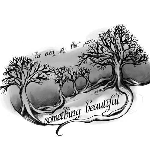 Oak Tree Tattoo Tattoo Contest 99designs Since ancient times, trees have stood as a. oak tree tattoo tattoo contest