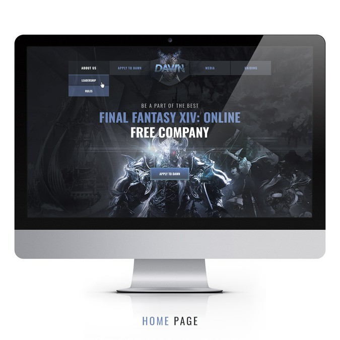 Design a website for a popular gaming community - future