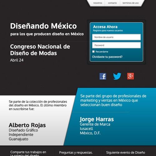 Diseño finalista de Marcelo Quiroz
