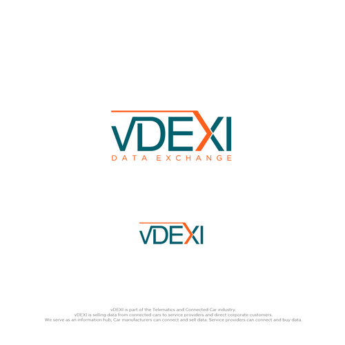 Logo for vDEXI Data Exchange that breaths Trustworthiness, Safety