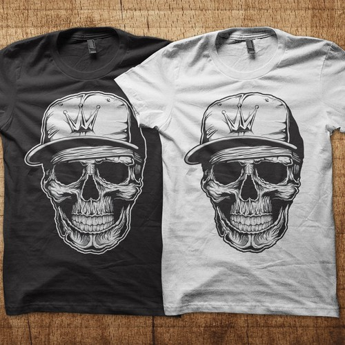 cooles skullmotiv zumshirtdruck t shirt contest. Black Bedroom Furniture Sets. Home Design Ideas